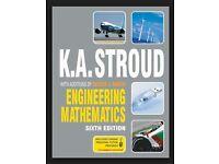 ENGINEERING MATHEMATICS SIXTH EDITION K.A. STROUD - STUDENT BOOK