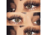 Eyelash extensions - ombré eyebrow tattoo - microblading - nails - spray tan - Russian volume lashes