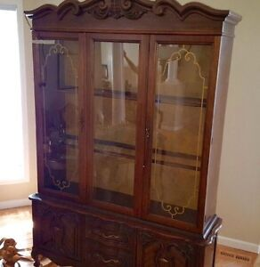 Solid Wood China Cabinet.