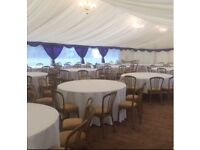 Chair hire & tables/dance floors/ marquees/ backdrops