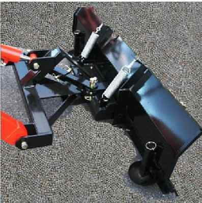 New 5 60 Snow Plow Blade Sub Compact Tractor For Mahindra Emaxmax Loader Hst