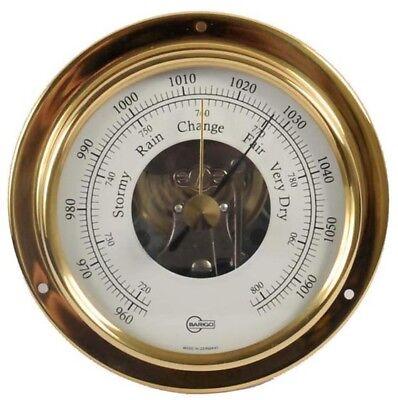 Haushaltsgeräte Barigo Bootsport Thermometer Hygrometer Chrom Regatta