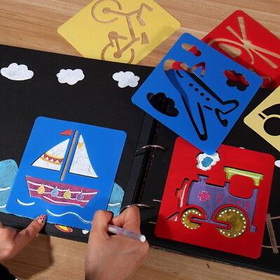 lonen Plastik - Sets mit 6 Motiven - vers. Cartoon Motive (Kinder Schablonen)