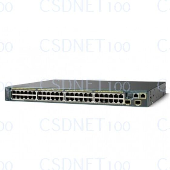 New Cisco Ws-c2960s-48lpd-l Catalyst 2960 Series Switch Factory Sealed