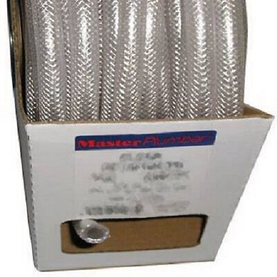 Clear Braided Reinforced Pvc Hosetubing 34 Id X 1.025 Od X 50 High Press.