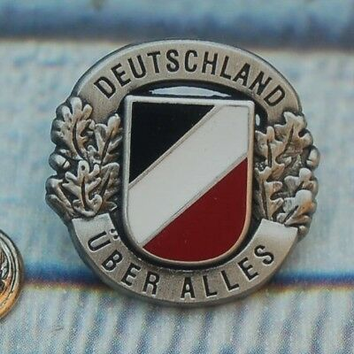 DEUTSCHLAND ÜBER ALLES  Military Pin Button Badge Anstecker Sticker # 353