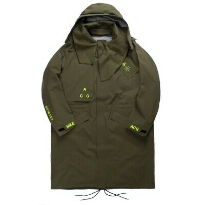$650 Nike ACG GORE-TEX NikeLab Acronym Jacket Parka Olive Black AQ3516 395 Mens