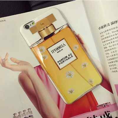 New iPhoria Parfum Style Pure Gold Phone Case For iPhone 6 / 6 Plus A02