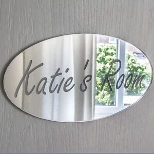 Personalised Door Name Plaque Boy or Girls Bedroom Room
