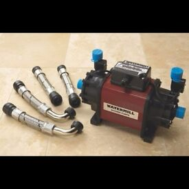 WaterMill twin impeller shower pump
