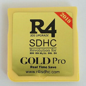 2018 New R4 Gold Pro Micro SD Memory Adapter Card for DS 3DS 2Ds