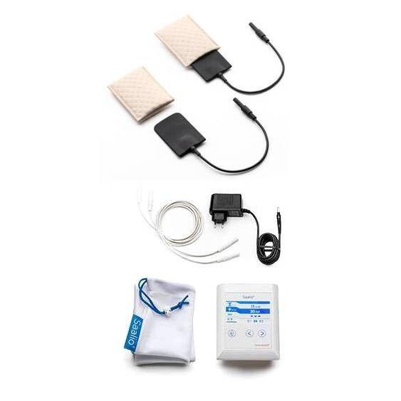 Saalio® AX Set Iontophorese Gerät gegen starkes Achselschwitzen & Achselschweiß