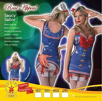 Mens Saucy Sailor Stag Party Fancy Dress Costume Novelty Womens Hen Outfit ](Mens Sailor Outfit)