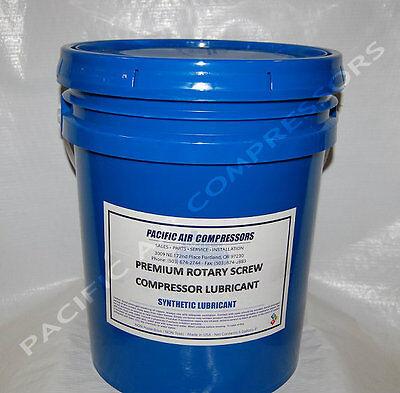 80xp-05 Syn-flo 8000 Hour 5 Gallon Synthetic Rotary Air Compressor Oil