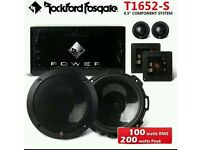 Rockford Fosgate power vision, l wiring kit to power 3 amps an front an rear an 6x9 an stereo.