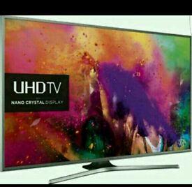 Samsung 60 inch 4K SMART LED TV . NANO CRYSTAL TECHNOLOGY 4K UHD