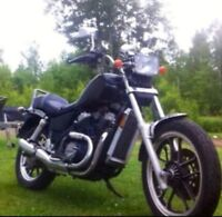 84 honda shadow trade for boat with motor and trailer