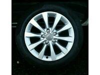 audi 17 inch alloy wheels