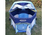 Graco Baby Play Tent/Sun UV Shade