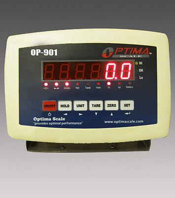 Indicator Scale Display Head Brain Optima Op-901 Weighing Indicator