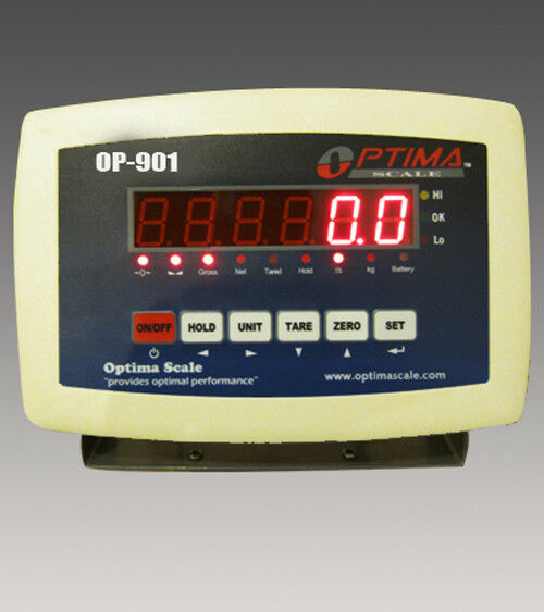 Indicator Scale Display Head Brain Optima OP-901 Weighing Indicator