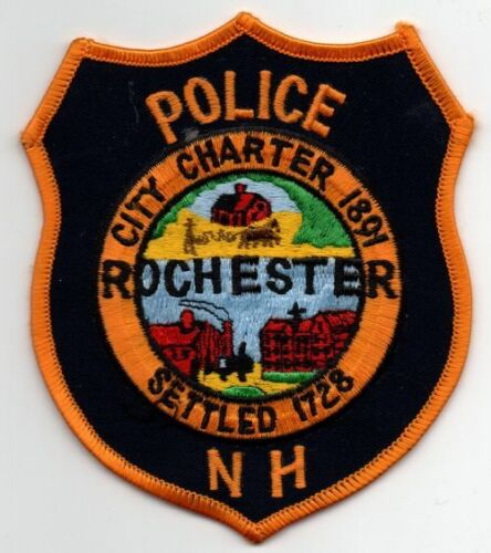 NEW HAMPSHIRE NH ROCHESTER POLICE NICE PATCH SHERIFF