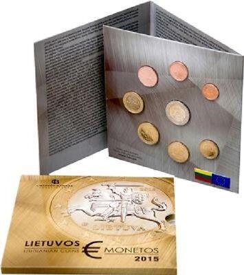 Litauen - 3,88 Euro - 2015 - Erster offizieller Euro-Kursmünzen-Satz - ST