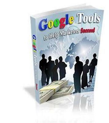 Google Tools To Help Marketers Succeed Ebook Cd  5 95   Resale Rights Ships Free