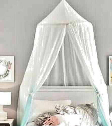 Bed Canopy Pottery Barn Kids Classic Tulle Canopy White New
