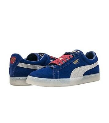 PUMA SUEDE EPIC REMIX SPORTS SNEAKERS MEN SHOES BLUEBERRY/GREY SIZE 12 NEW