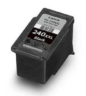 NEW Sealed Genuine Canon Pixma PG-240 XXL Black Ink FINE Cartridge
