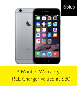 Space Grey - iPhone 6PLUS - 16GB Warrawong Wollongong Area Preview