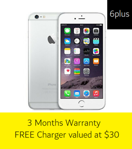 iPhone 6Plus 16GB - Silver - Great Condition Warrawong Wollongong Area Preview