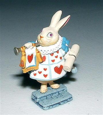 KAIYODO Alice In Wonderland WHITE RABBIT /TRUMPET Mini Figure SIR JOHN TENNIEL