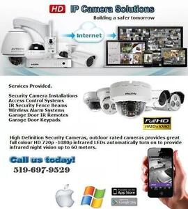 Security Camera & Alarm Installations Stratford Kitchener Area image 7