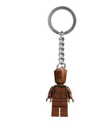LEGO Teen Groot Guardians Of The Galaxy Keychain Action Figure 6 (Guardians Of The Galaxy Captain America Shield)