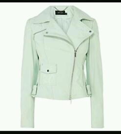 Karen millen leather jacket, 10