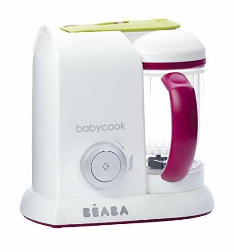 BEABA Babycook Pro- Dishwasher Safe Baby Food Maker-Cooks & Processes, Gipsy