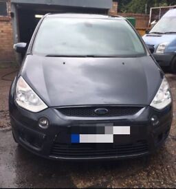 Ford s max titanium 58 plate Grey 2.0L diesel FOR PARTS/SPARES