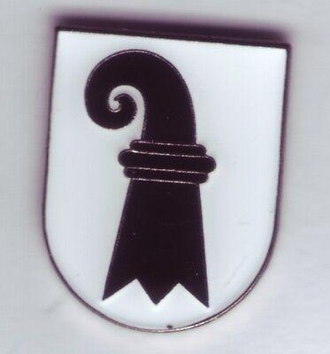 Basel -Stadt  Wappen Pin,Coat of Arms,Schweiz,Suisse,Svizzera,Kanton Anstecker