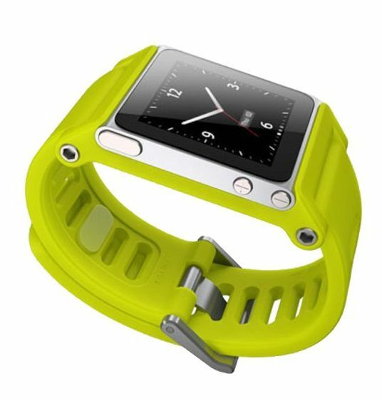 New Genuine LunaTik TikTok Watch Wrist Band Strap for Apple iPod Nano 6th Gen