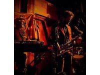 Sax and Keyboard required for cool jazz/soul