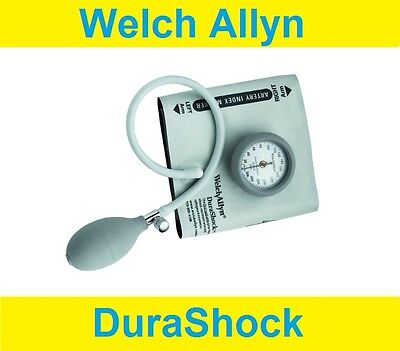 Welch Allyn Manual Sphygmomanometer DS44-11 Aneroid Blood Pressure Adult Cuff