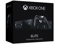 xbox one elite 1tb for sale. Will include xbox 360 too.