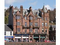 "OBAN HARBOUR FRONT ""ARGYLL MANSIONS"" 3 Bedroom Holiday Apartment"