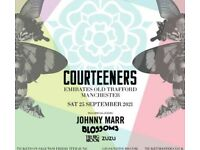 Courteeners Blossoms Johnny Marr ticket