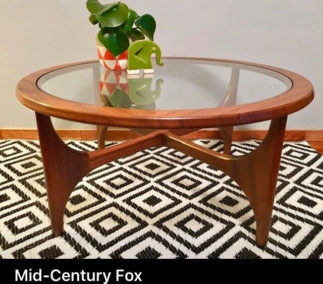 Mid century solid teak coffee table by Stonehill | in ...
