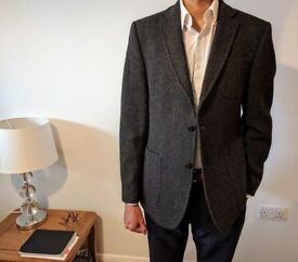 Tailored fit Charles Tyrwhitt British tweed jacket LIKE NEW