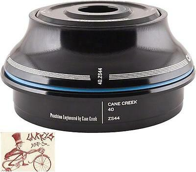 ZS44//30 Tall Cover Headset Black New Cane Creek 40 ZS44//28.6