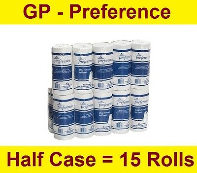 Georgia-Pacific 27385 Preference 2-Ply Perforated Paper Towel Roll - 15 Rolls